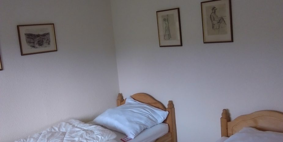 Ferienhaus Ehrauberge Schlafzimmer